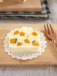 米粉の蒸しパウンドケーキ♪かぼちゃココナッツ