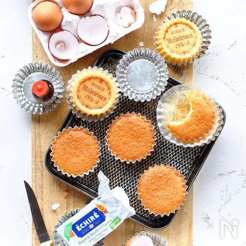 飽きない洋菓子☆基本のマドレーヌ!