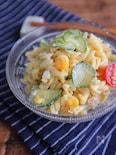 黄金のマカロニツナサラダ