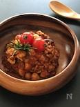 大豆のお肉で♪『チリコンカン』