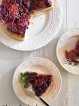 簡単!冷凍ミックスベリーのアップサイドダウンケーキ