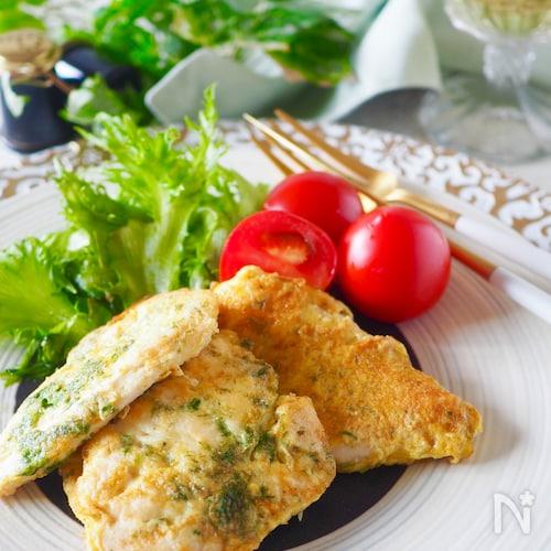 ふっくらジューシー*鶏ささみのカレーピカタ#お弁当#作り置き