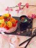 女の子のためのお花🌸寿司