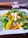 カシューナッツとクレソンのヴィネグレットサラダ