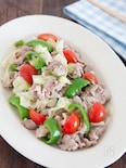 豚肉とたっぷり野菜の塩レモン炒め