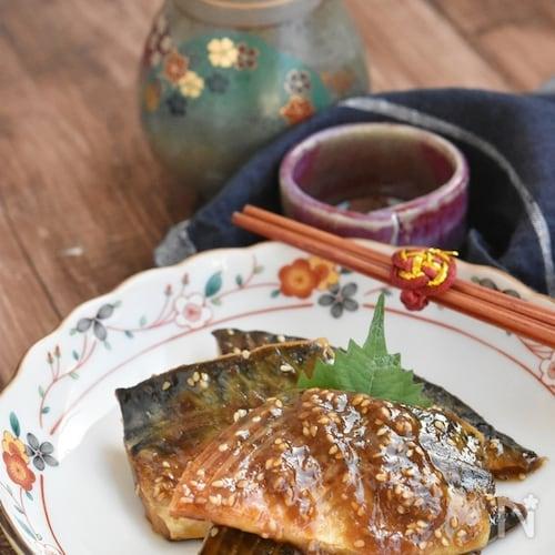 塩鯖の味噌マヨ照り焼き【冷凍・作り置き】