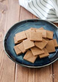 『材料2つ!簡単あんこきな粉クッキー♪【油・卵・小麦粉不使用】』