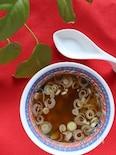 白ネギとザーサイのさっぱり中華スープ