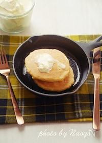 『糖質オフ&グルテンフリーなおからパンケーキ』