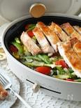 <BRUNO>ジューシーチキンと野菜の山椒バターソテー