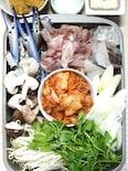 渡り蟹の味噌キムチチゲ