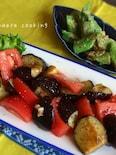簡単絶品♡夏野菜de副菜2種