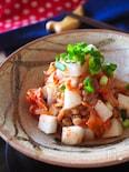 ネバネバ発酵食材集合*納豆と長芋とキムチのネバトロ和え