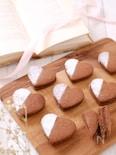 バレンタインに♡サクホロッ!チョコサンドクッキー