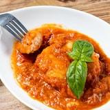 『鶏むね肉のトマトチーズソース』