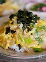 トロロと卵は相性良し♡『トロロたまご丼』
