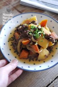 味付けの不安解消!家庭料理の煮物の代表【基本の肉じゃが】