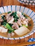 激安食材でも大満足♪『コクうまバター醤油 de 肉豆腐』