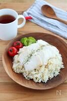 炊飯器で簡単!鶏むね肉の海南チキンライス