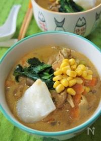 『絶品スープのミルクカレーうどん♪』