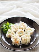 野菜入りふんわり豆腐焼売
