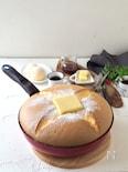 フライパンで作る!おっきなカステラ・パンケーキ