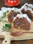 板チョコ入り!くるみとクコの実の濃厚チョコパウンドケーキ