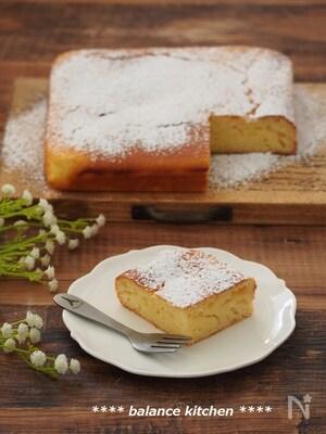オーブンまで5分!しっとりヨーグルトケーキ