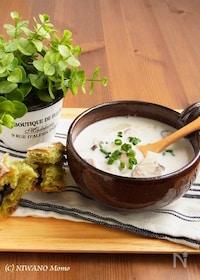 『ポテトとマッシュルームのミルクスープ』