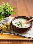 ポテトとマッシュルームのミルクスープ