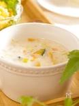 10分で完成。野菜ゴロゴロ豆乳クリーミースープ