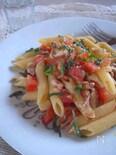 魚介とトマトの《塩レモン》入りパスタ