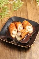 お弁当!肉巻チーズの生姜焼き