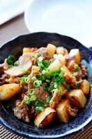 丁度良い辛さでご飯が進む!長芋と豚肉のピリ辛炒め!