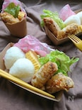 お弁当に〜白だしマヨガーリックで香りマイルド♪鶏のから揚げ〜
