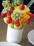 フルーツのブーケ。