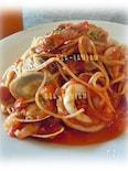 ペスカトーレ 自家製トマトソース