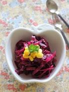 紫キャベツの甘酢漬け