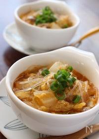 『酸辣湯風スープ』