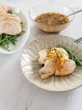 シンプルな材料で美味しい!にんにくチップ生姜ダレのよだれ鶏
