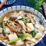 小松菜と豆腐のだし醤油あん【#胃腸にやさしい #デパ地下風】