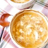 ぽかぽか♡『ねぎと生姜のたまごスープ』