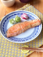 鮭の味噌マヨ漬け焼き