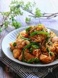 【らくレピ】鶏肉と切り干し大根のスタミナオイマヨ炒め