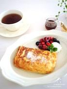 余ったお餅で【簡単】ふわモチッ♪おもちフレンチトースト