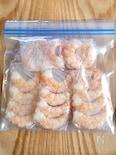 本当に便利♡レンジで簡単『むき海老の冷凍保存』