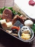 〜ヘルシー鶏もも肉のハニー胡麻ソース(作りおき)お弁当〜