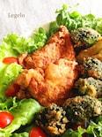 クリスマスに☆ジューシー鶏むね肉フライドチキン&ブロッコリー