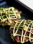 ふわふわの牡蠣のお好み焼き