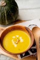 【ミキサー不要】カボチャのスープ
